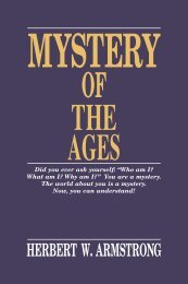 Mystery of the Ages - Church of God - NEO