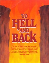 To Hell and Back - Church of God - NEO