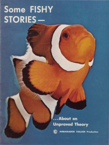 Some Fishy Stories - Church of God - NEO