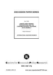 DISCUSSION PAPER SERIES - Robert Kollmann