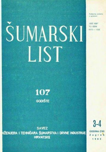 ÅUMARSKI LIST 3-4/1983