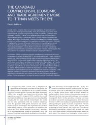 the canada-eu comprehensive economic and trade agreement