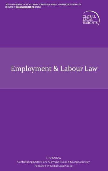 US Employment & Labour Law - Jackson Lewis
