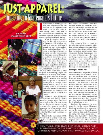 26-29 Just Apparel Guatemala:Master Galley - Plain Truth Ministries