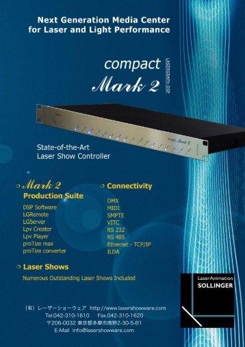 Mark 2 - Laser Show Ware, Inc.