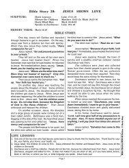 ESA 39 Jesus Loves Children Zacchaeus PDF 4 ... - Bible Storytelling