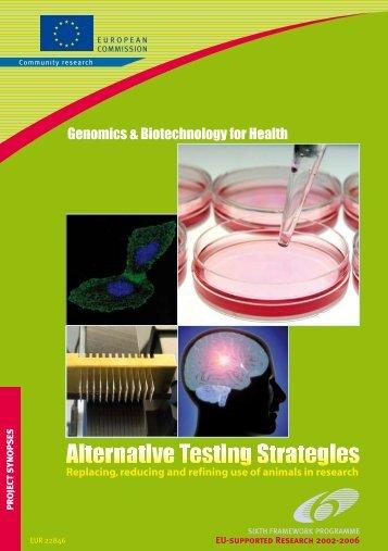 Alternative Testing Strategies - Europa