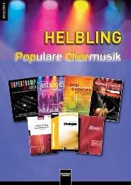 Populare Chormusik - Helbling Verlag