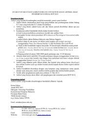 Syarat-syarat dan garis panduan untuk penulisan artikel bagi ...