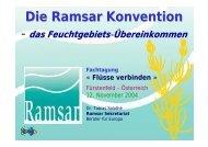 Die Ramsar Konvention-das Feuchtgebiets ... - Europa im Fluss