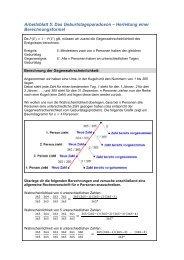 Arbeitsblatt 5: Das Geburtstagsparadoxon – Herleitung ... - idmthemen