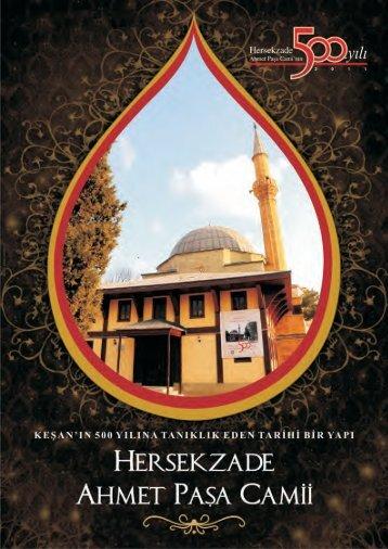 Hersekzade Ahmet Paşa Camii Tanıtım Kitapçılığı İçin Tıklayınız