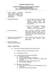 Penolong Pegawai Belia Dan Sukan - Jabatan Pendaftar - Universiti ...