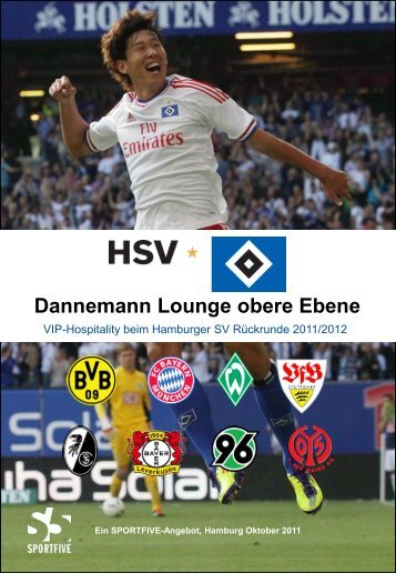 Dannemann Lounge obere Ebene - HSV