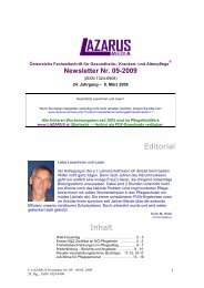 Lazarus Nr. 9 - Nurse-Communication