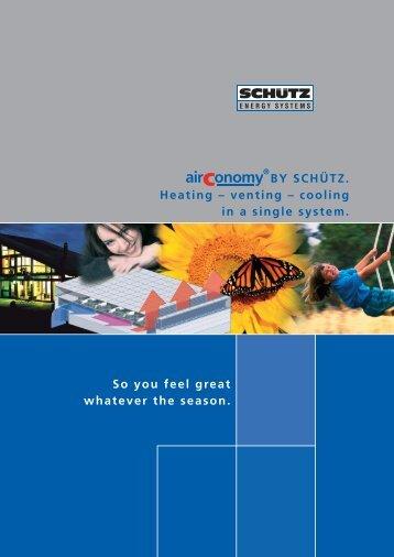 Schutz AirConomy system Brochure