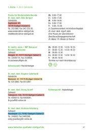 Praxis für Kinderzahnheilkunde Dr. med. dent ... - Hubertus Apotheke