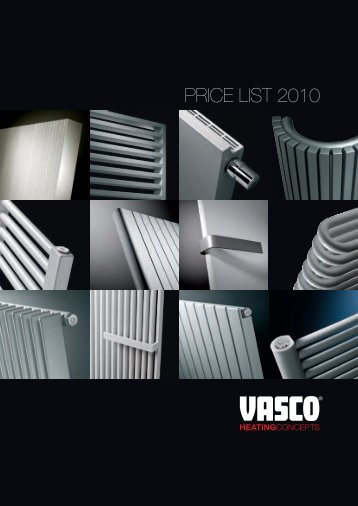 PRICE LIST 2010 - DOMOSS VO Shop