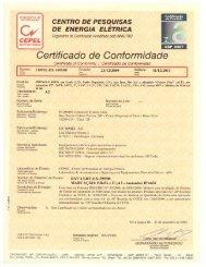 Organismo de Certificação Certificação de Produto - Hummel AG