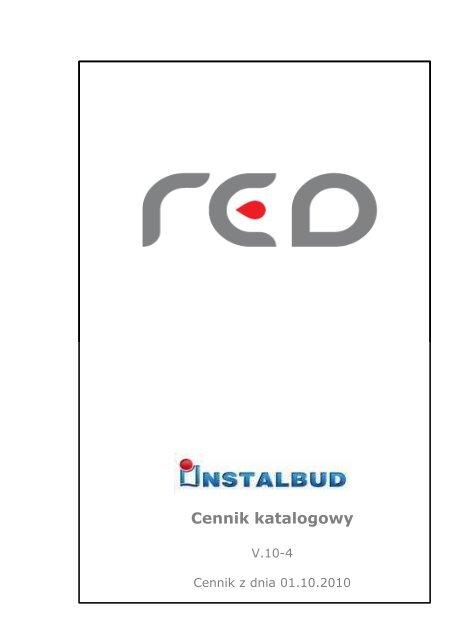 Cennik katalogowy - Instalbud