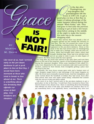 42-45 Grace Is Not Fair:Master Galley - Plain Truth Ministries