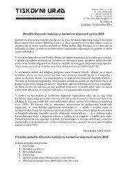 poročila - Katoliška cerkev v Sloveniji