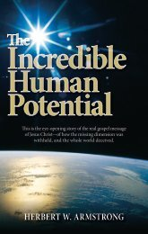 The Incredible Human Potential - Church of God - NEO