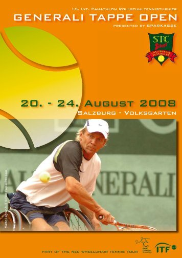 GENERALI TAPPE OPEN 20. - 24. August 2008 - Salzburg24