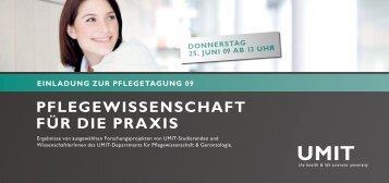 PflegeWiSSenSCHaft für Die PraXiS - Nurse-Communication