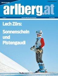 Lech Zürs: Sonnenschein und Pistengaudi