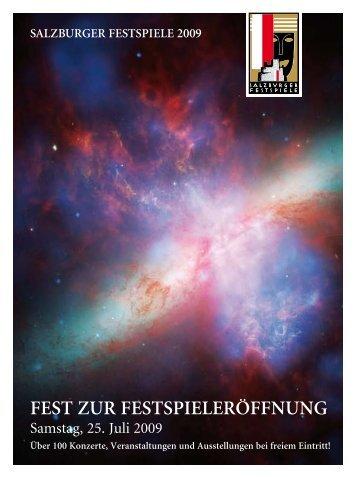 FEST ZUR FESTSPIELERÖFFNUNG - Salzburg24