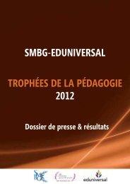 Trophées de la Pédagogie 2012 - Meilleurs Masters
