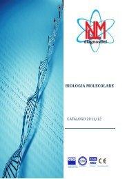 Catalogo Biologia Molecolare - Nuclear Laser Medicine srl