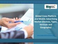 Global Cross Platform and Mobile Advertising Market Trends,Demand 2020 : BMR