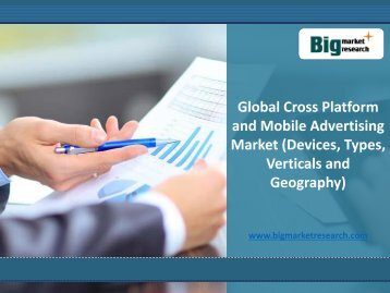 Global Cross Platform and Mobile Advertising Market Trends,Demand 2020 : BMR