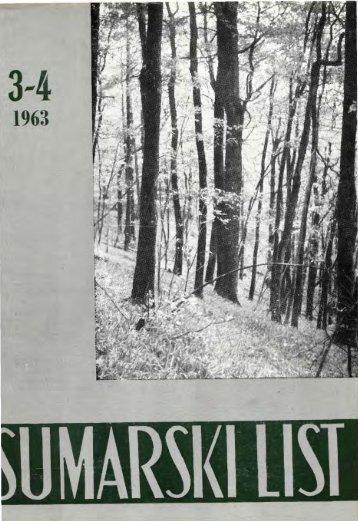 ÅUMARSKI LIST 3-4/1963
