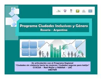 el diagnóstico presentado en español - Red Mujer y Hábitat de ...