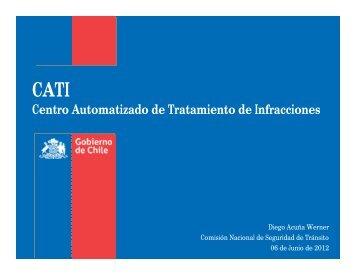 CATI Centro Automatizado de Tratamiento de Infracciones - ITS Chile
