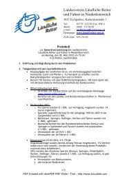 Protokoll GV.pdf - Ländliche Reiter und Fahrer in Niederösterreich