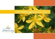 Veranstaltungskalender 2011 - aroma-seminare.at
