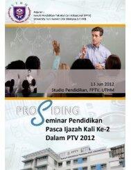 Disini - FPTV - Universiti Tun Hussein Onn Malaysia