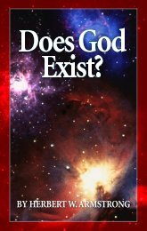 Does God Exist? - Church of God - NEO