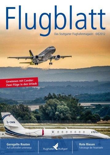 Flugblatt Ausgabe 4 September 2012 - Flughafen Stuttgart