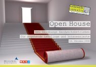 Open House - Kreative und Handwerker