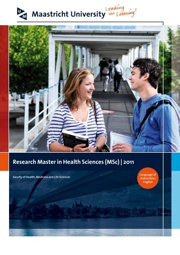 Research Master in Health Sciences (MSc) | 2011 - Caphri