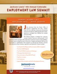 Denver Employment Law Summit Brochure 2012.pdf - Jackson Lewis
