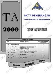 Nota Penerangan TA 2009 - Lembaga Hasil Dalam Negeri