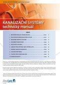 Kanalizační systémy, technický manuál - Pipelife Czech, s.r.o. - Page 2