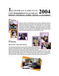 Laporan Tahun 2004 - Jabatan Pendaftar