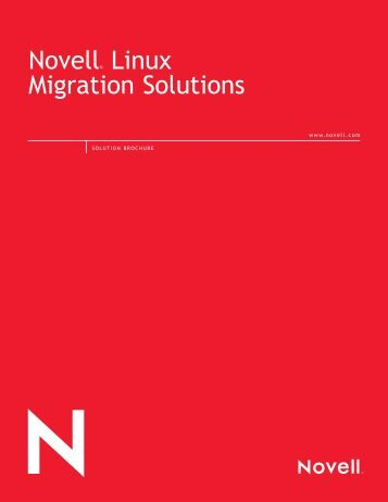 Solution_Brochure-Novell_Linux_Migration_Solutions - File Storage